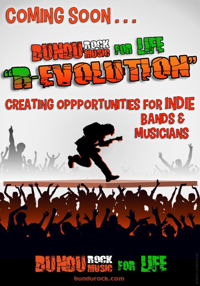 BUNDUROCK Music for LIFE R-EVOLUTION