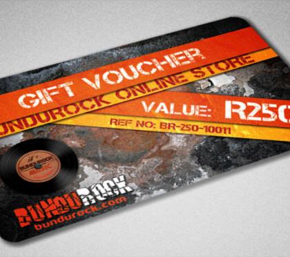 BUNDUROCK Gift Voucher